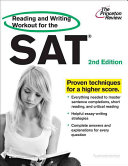 Reading and Writing Workout for the SAT  2nd Edition