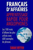 Francais d   Affaires  Apprentissage Rapide Pour Anglophones