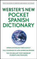 Webster S New Pocket Spanish Dictionary Target Edition