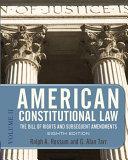 American Constitutional Law  Volume 2