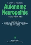 Autonome Neuropathie bei Diabetes mellitus