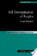 Self Determination of Peoples