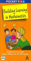 Pocket PAL  Building Learning in Mathematics