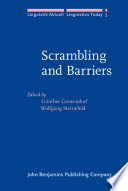 Scrambling and Barriers