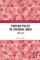 Foreign Policy of Colonial India