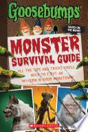 Goosebumps The Movie  Monster Survival Guide