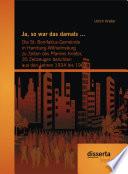 Ja  so war das damals      Die St  Bonifatius Gemeinde in Hamburg Wilhelmsburg zu Zeiten des Pfarrers Krieter  35 Zeitzeugen berichten aus den Jahren 1934 bis 1963
