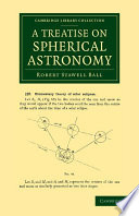 A Treatise On Spherical Astronomy book