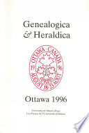 Genealogica   Heraldica