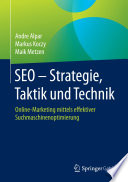 SEO   Strategie  Taktik und Technik