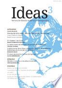 Ideas, revista de filosofía moderna y contemporánea, número 3 (otoño 2016)