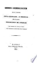 Genno geneologico delle famiglie Ceva Grimaldi  e Mirella del cavaliere Francesco De Angelis