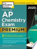Cracking The Ap Chemistry Exam 2020 Premium Edition
