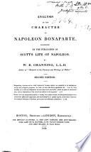 Analysis of the Character of Napoleon Bonaparte