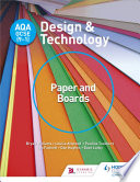 AQA GCSE  9 1  Design and Technology  Paper and Boards