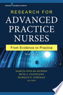 Research for Advanced Practice Nurses  Third Edition