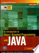 An Intro To Oop With Java, 4E