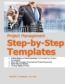 Project Management Step By Step Templates
