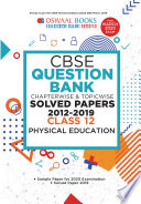 Oswaal Cbse Question Bank Class 12 Physical Education Chapterwise Topicwise For March 2020 Exam