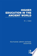 Higher Education in the Ancient World