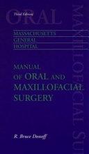 Manual of Oral and Maxillofacial Surgery