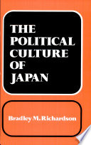 The Political Culture of Japan