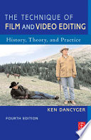 Ebook The Technique of Film and Video Editing Epub Ken Dancyger Apps Read Mobile