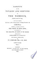 Narrative of the Voyages and Services of the Nemesis  from 1840 to 1843 and of the Combined Naval and Military Operations in China  etc   Book PDF