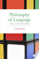 Philosophy of Language