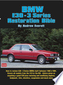 Bmw E30 3 Series Restoration Guide