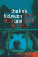 The Link Between Animal Abuse and Human Violence