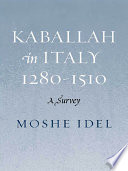 Kabbalah in Italy  1280 1510