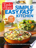 Taste Of Home Simple Easy Fast Kitchen