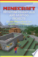 Minecraft Redstone Essentials And Must Do Projects