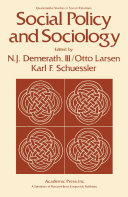 Social Policy and Sociology