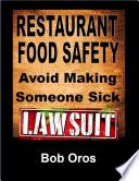 Restaurant Food Safety Avoid Making Someone Sick