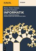 Programmierung, Algorithmen und Datenstrukturen