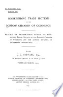 Report of Arbitration Between the Bookbinding Trade Section of the London Chamber of Commerce and the London Societies of Journeymen Bookbinders  Before C  J  Stewart  Esq   the Arbitrator Appointed by the Board of Trade  February March  1903