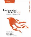 Programming Phoenix   1 4
