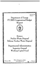 Energy and Water Development Appropriations For 2006  Part 4B  109 1 Hearings