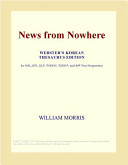 News from Nowhere  Webster s Korean Thesaurus Edition