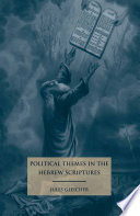 Political Themes in the Hebrew Scriptures