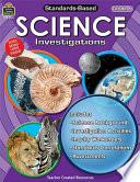 Standards Based Science Investigations Grade 6