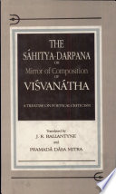 The Sáhitya-darpaṇa Or Mirror of Composition of Viśvanátha