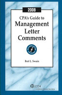 CPA's Guide to Management Letter Comments