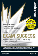 Law Express  Exam Success  Revision Guide