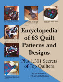 Encyclopedia Of 63 Quilt Patterns And Designs