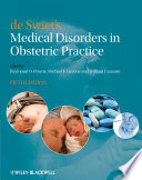 de Swiet s Medical Disorders in Obstetric Practice