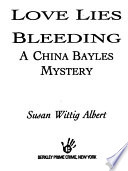 Love Lies Bleeding : tale (midwest book review). ex-lawyer and herb-shop proprietor...