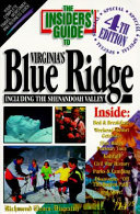 Insiders  Guide to Virginia s Blue Ridge Including the Shenandoah Valley